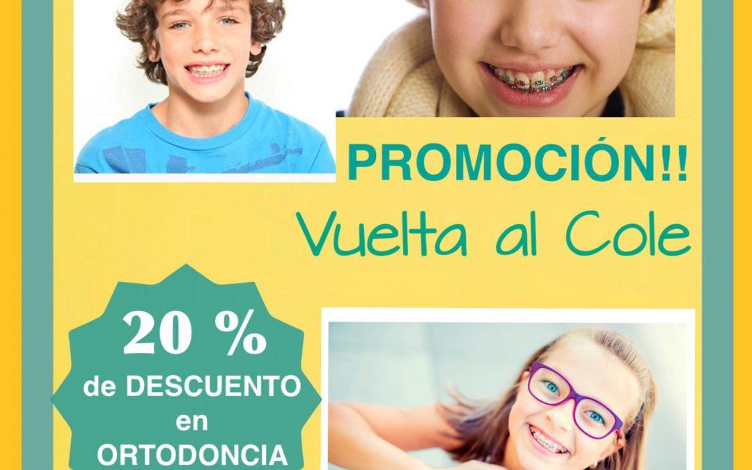Promoción en Ortodoncia en Madrid centro